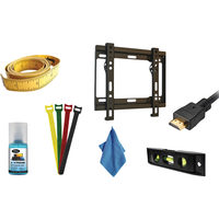 Xtreme 23 to 42 In. Fixed Ultra-Slim TV Wall Mount Kit