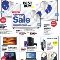 Best Buy - Weekly - Anniversary Sale Flyer