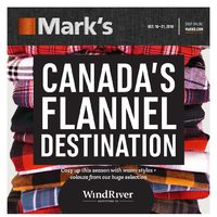 - 6 Days of Savings - Canada's Flannel Destination Flyer