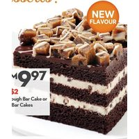 Cookie Dough Bar Cake or Bar Cakes