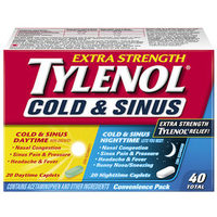 Tylenol Cold Or Cold & Sinus