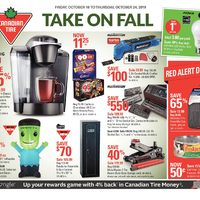 Canadian Tire - Weekly - Take On Fall Flyer