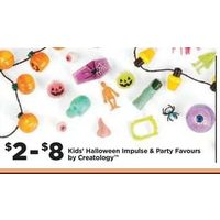 Kids Halloween Impulse & Party Favours By Creatology