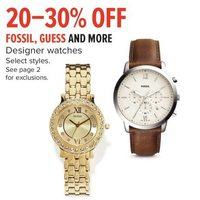 Fossil, Guess And More Designer Watch