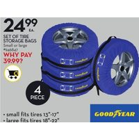 Good Year Set Of Tire Storage Bags