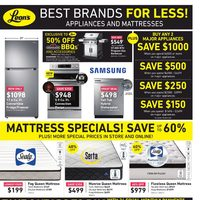 Leon's - Best Brands For Less! Flyer