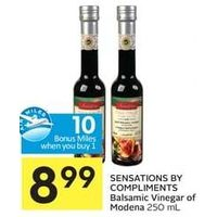 Sensations By Compliments Balsamic Vinegar Of Modena