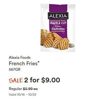 Alexia Foods French Fries