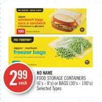 No Name Food Storage Containers Or Bags