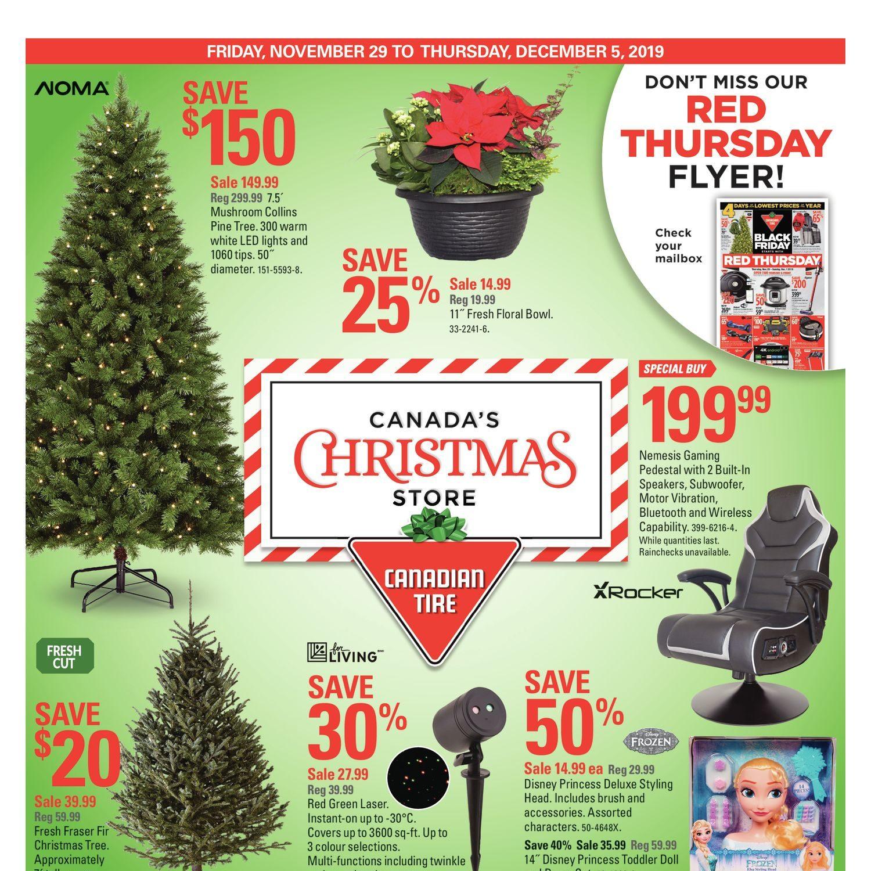 Canadian Tire Weekly Flyer Weekly Canada S Christmas Store Nov 29 Dec 5 Redflagdeals Com