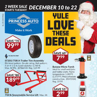 Princess Auto - 2 Week Sale - Yule Love These Deals Flyer