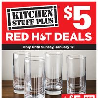 - Red Hot Deals - $5 Deals Flyer
