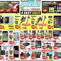 Factory Direct - Super Sale! Flyer