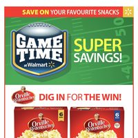 Walmart - Supercentre - Game Time Super Savings! Flyer