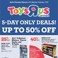 Toys R Us - 5-Day Only Deals! Flyer