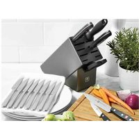 Zwilling Tradition 7-Piece Knife Block Set with bonus 8-Piece Steak Knife Set