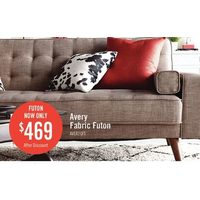 Avery Fabric Futon