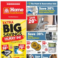 Home Hardware - Weekly - The Paint & Renovation Sale Flyer
