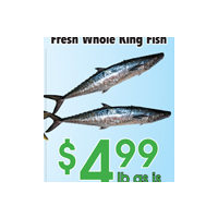 Fresh Whole King Fish