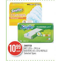 Swiffer Wet Or Dusters Refills