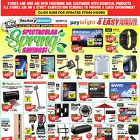 Factory Direct - Spectacular Spring Savings! Flyer