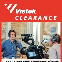 Vistek - Vistek Clearance Flyer