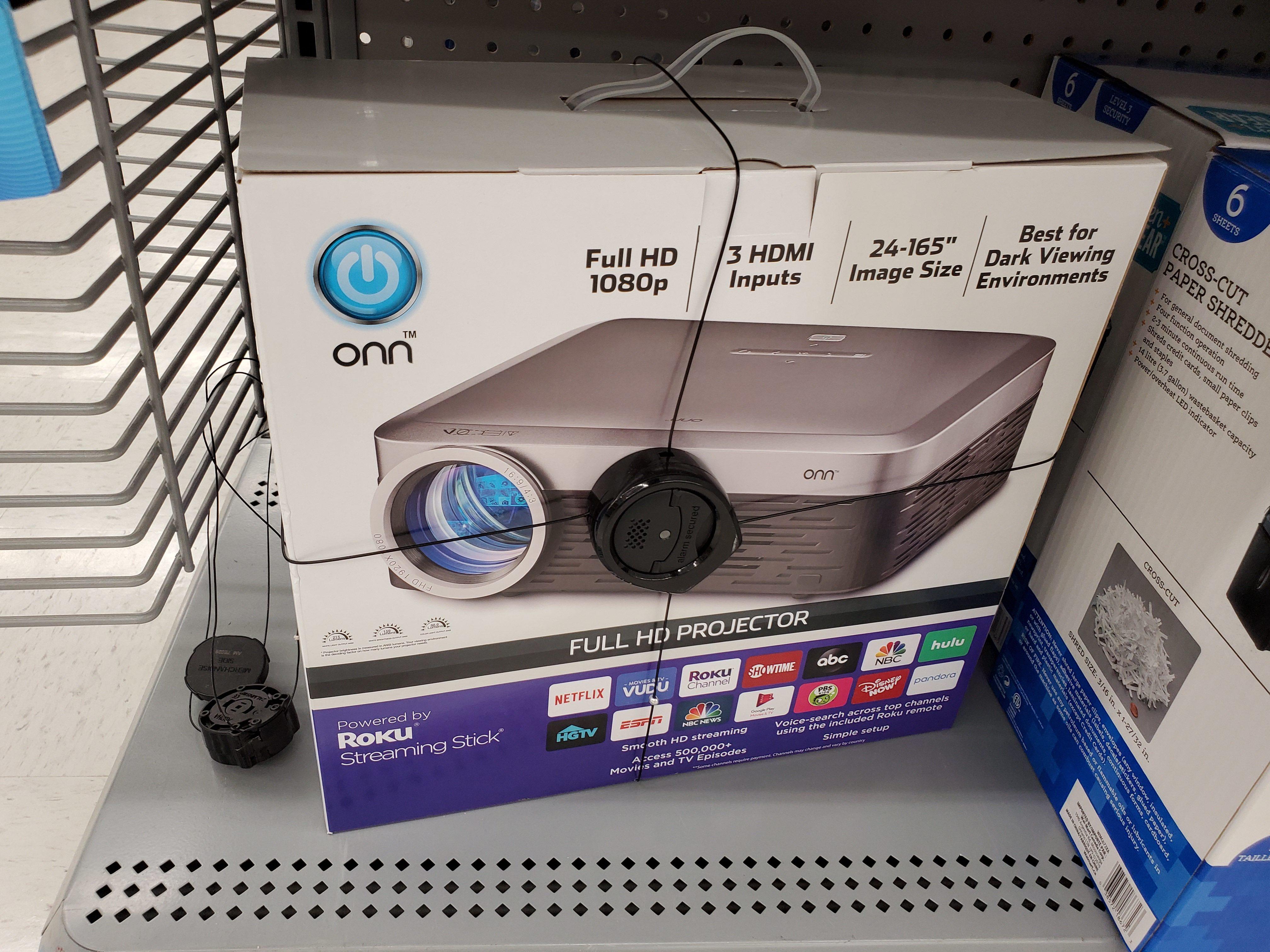 Projector onn roku Brand New