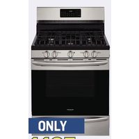 "Frigidaire Gallery 30"" True Convection Gas Range With Air Fry"