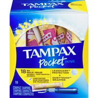 Always Pads, Liners, Tampax Tampons, U By Kotex Pads, Liners Or Tampons
