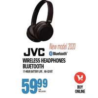 JVC Wireless Headphones Bluetooth