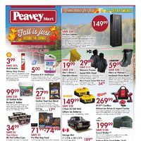 PeaveyMart - Fall Is Just Around The Corner Flyer