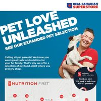 Real Canadian Superstore - Pet Love Unleashed Flyer