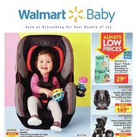 Walmart - Baby Book - Save on Everything For Your Bundle of Joy Flyer