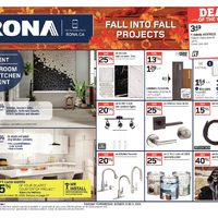 Rona - Weekly - Fall Into Fall Projects Flyer