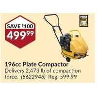 Power Fist 196cc Plate Compactor
