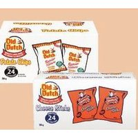 Old Dutch Halloween Potato Chips or Humpty Dumpty Halloween Cheese Sticks