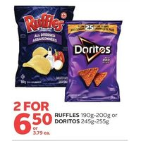 Ruffles or Doritos