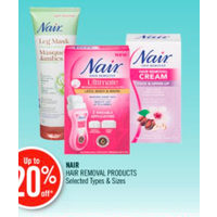 Nair Hair Removal Products