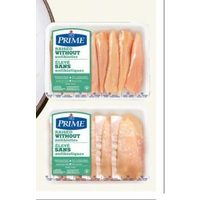 Maple Leaf Prime Chicken Breast Fillets or Thin Sliced Chicken Breasts