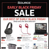 - Early Black Friday Sale Flyer