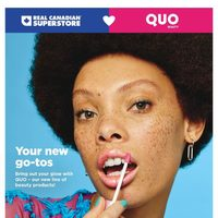 Real Canadian Superstore - Quo Beauty Book Flyer