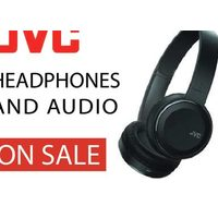JVC Headphones and Audio on Sale