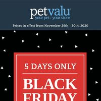 Pet Valu - Black Friday Sale Flyer