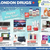 - 7 Days of Savings - Happy New Year! Flyer