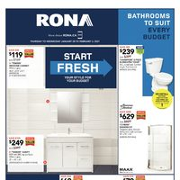 Rona - Weekly Deals - Start Fresh Flyer