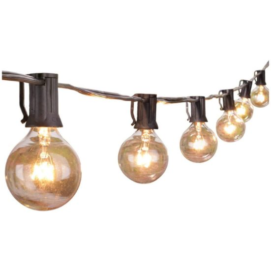 6. Best Ambience: Brightown Outdoor String Lights