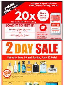 [Valid Sat Jun 19 — Thu Jun 24] Shoppers Drug Mart