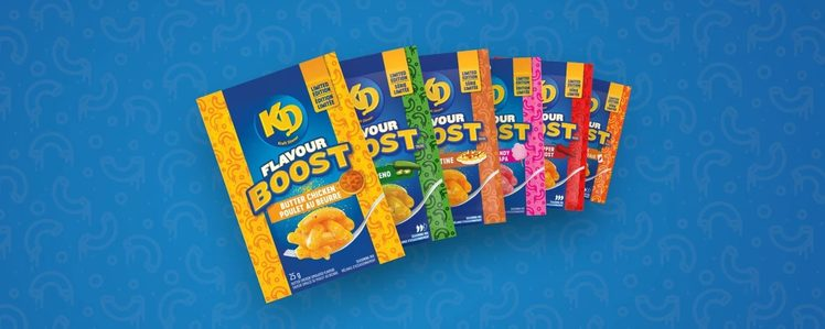 Kraft Dinner Adds Six New Limited Edition Flavours in Canada, Including Pink Cotton Candy