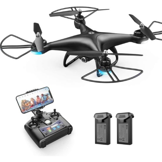 3. Best Budget Pick: Holy Stone HS110D FPV RC Drone