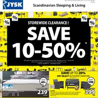 - Weekly Deals - Storewide Clearance! Flyer